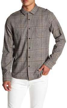 Jeremiah Fillmore Reversible Plaid Print Shirt