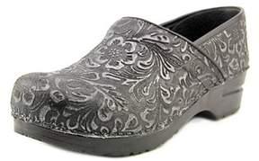 Sanita Professional Gwenore Round Toe Leather Clogs.
