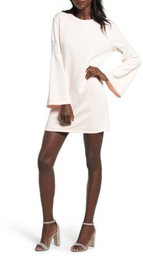 Everly Women's Bell Sleeve Sweatshirt Dress