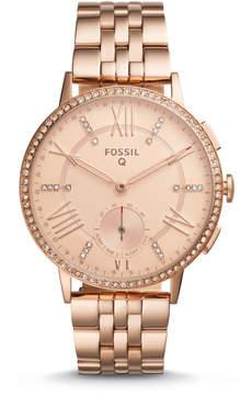 Fossil REFURBISHED Hybrid Smartwatch - Q Gazer Rose Gold-Tone Stainless Steel