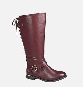 Avenue Dakota Lace Back Tall Boot