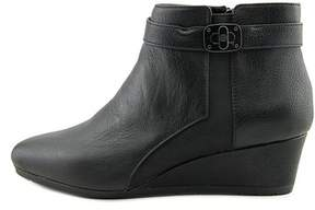 Giani Bernini Womens Celinaa Leather Almond Toe Ankle Platform Boots.