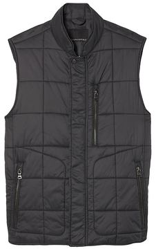 Banana Republic Lightweight Water-Resistant Quilted Vest