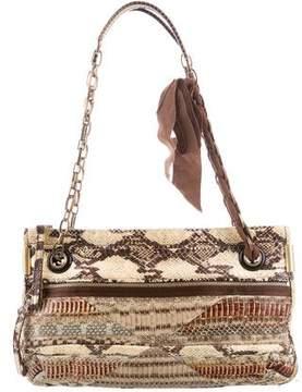 Lanvin Python Shoulder Bag