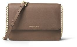 MICHAEL MICHAEL KORS Grained Leather Crossbody
