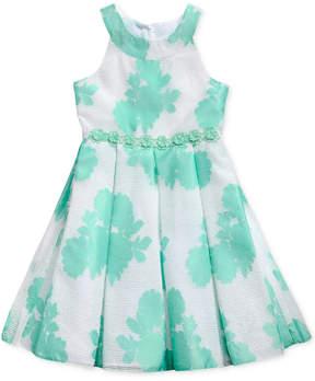 Sweet Heart Rose Floral-Print Dress, Big Girls