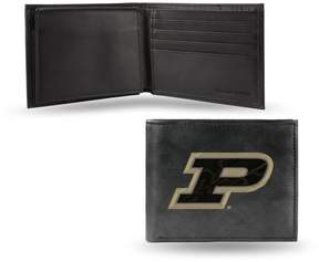 Rico NCAA Embroidered Leather Billfold Wallet - Purdue