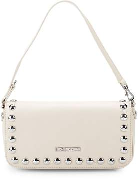 Love Moschino Women's Studded Faux Leather Top Handle Bag