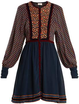 Athena TALITHA Ashanti-print silk dress