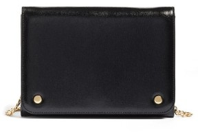 Nordstrom Women's Leather Wallet On A Chain - Black