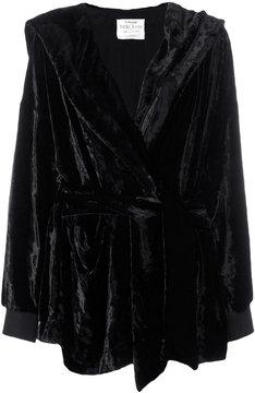 Forte Forte velvet hood coat