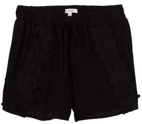 Ella Moss Selma Allover Crochet Short (Big Girls)
