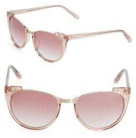 Linda Farrow Luxe 54MM Cat Eye Sunglasses