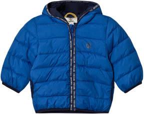Timberland Kids Royal Blue Ultralight Hooded Puffer Coat