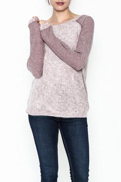 Cherish Baseball Sleeve Sweatshirt