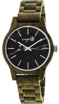 Earth Wood Tuckahoe Marble-Dial Bracelet Watch