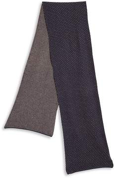 Saks Fifth Avenue Collection Men's Dot Patterned Wool-Blend Scarf