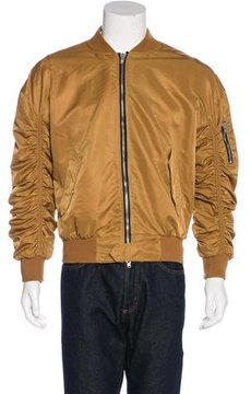 Fear Of God 2016 Ruched Bomber Jacket