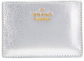 Kate Spade Highland Drive Metallic Card Case - SOFT ROSE GOLD - STYLE