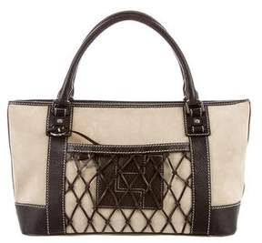Lambertson Truex Suede & Leather Tote