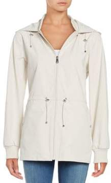 Bernardo Water-Resistant Hooded Jacket