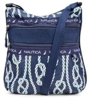Nautica Captain's Quarter Crossbody Bag