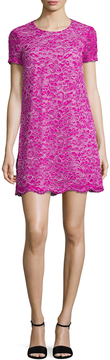 CeCe Women's Kayte Corded Lace Shift Dress