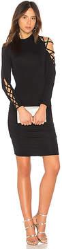 Krisa Lace Up Dress
