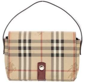 Burberry Small Haymarket Check Bag