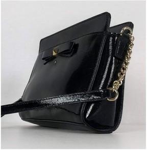 Kate Spade Black Textured Leather Crossbody