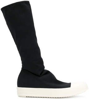 Rick Owens stocking sneak knee boots