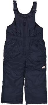 Osh Kosh Oshkosh Bgosh Toddler Girl Navy Bib Snow Pants