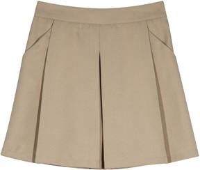 Chaps Girls 4-16 School Uniform Box-Pleated Skort