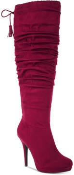 Thalia Sodi Brisa Wide-Width Wide-Calf Dress Boots, Created for Macy's Women's Shoes