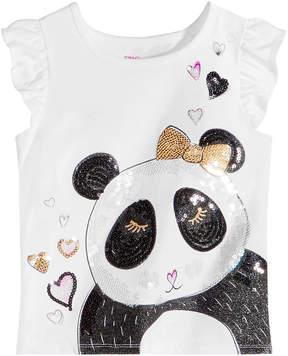 Epic Threads Little Girls Sequin Panda T-Shirt, Created for Macy's