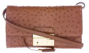 Michael Kors Embossed Gia Crossbody Bag