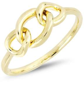 Bony Levy 14K Yellow Gold Knot Accent Ring