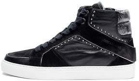 Zadig & Voltaire Women's Zv1747 Leather High Top Sneakers