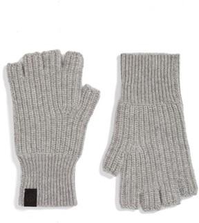 Rag & Bone Men's Ace Cashmere Knit Fingerless Gloves