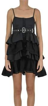 Diesel Black Gold Women's Black Cotton Dress.