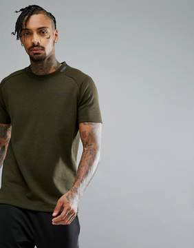 Jack and Jones Tech T-Shirt In Heavy Jersey