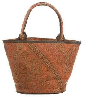 Etro Printed Handle Bag