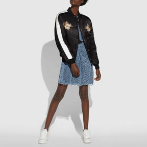 Coach Magnolia Souvenir Puffer Jacket