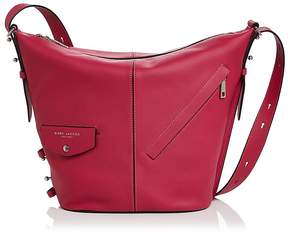 Marc Jacobs The Sling Leather Hobo - HIBISCUS/SILVER - STYLE