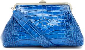 MARQUES'ALMEIDA Crocodile-effect leather bag