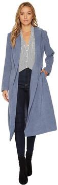 Brigitte Bailey Ryleigh Microsuede Coat Women's Coat