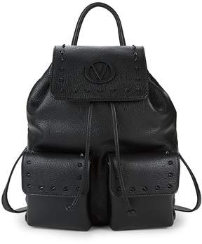 Mario Valentino Valentino by Women's Simeon Leather Drawstring Backpack