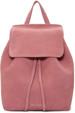 Mansur Gavriel Pink Suede Mini Backpack
