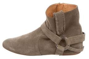 Etoile Isabel Marant Suede Stirrup Booties