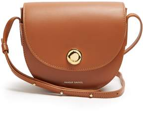 Mansur Gavriel Mini Saddle leather cross-body bag